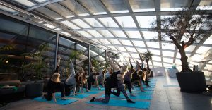 Chase PR Agency London bioderma Yoga Event